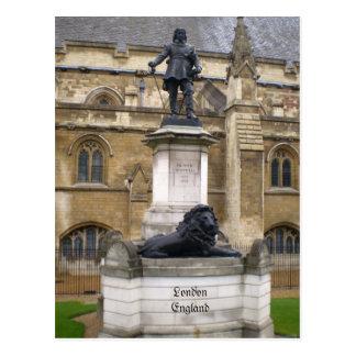 Postal de Oliver Cromwell