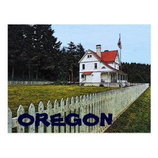 Postal de Oregon Heceta