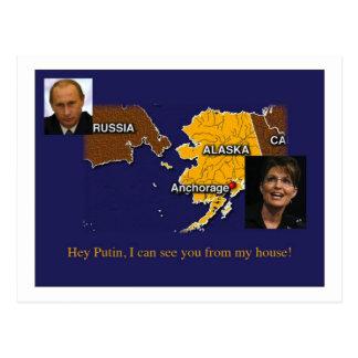 Postal de Palin