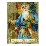 Postal de Papá Noel del Viejo Mundo