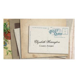 Postal de papel de las Ephemeras del vintage Tarjetas De Visita