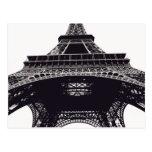 Postal de París de la torre Eiffel