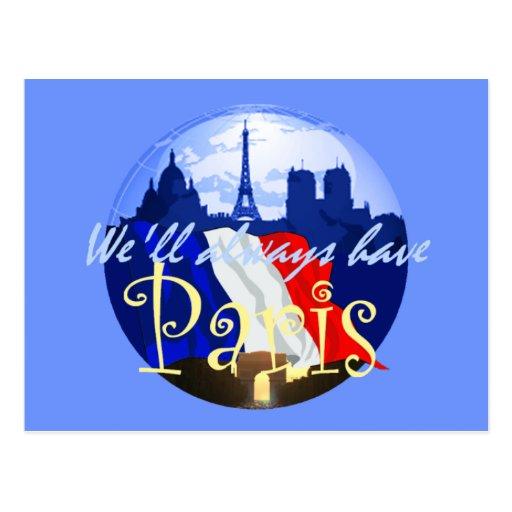 Postal de PARÍS Francia