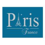 Postal de París Francia, personalizar