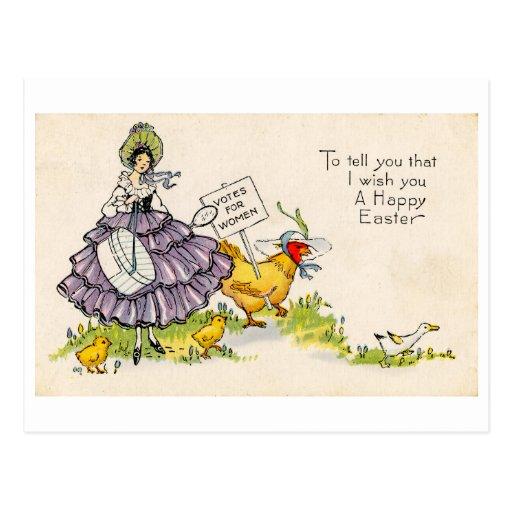 Postal de Pascua (CA 1920)