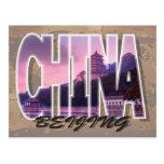 Postal de Pekín, China