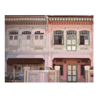 Postal de Peranakan Shophouses