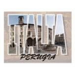 Postal de Perugia, Italia