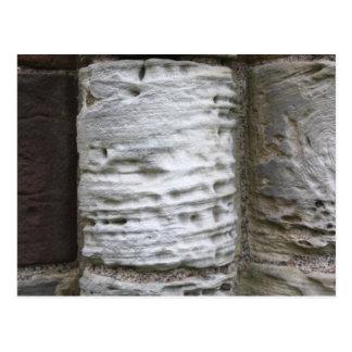 Postal de piedra de las columnas