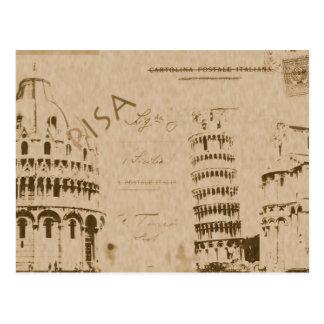 Postal de Pisa