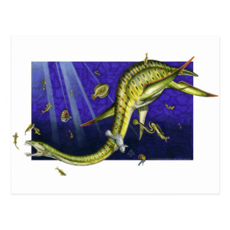 Postal de Plesiosaur