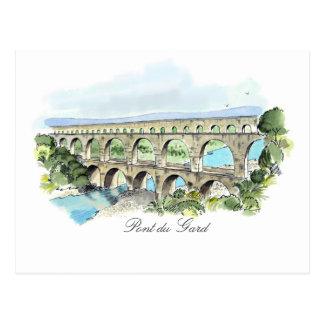 Postal de Pont Du Gard