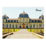 Postal de Poppelsdorf del castillo