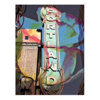 "Postal de ""Portland"""