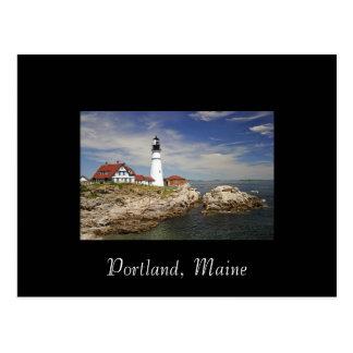Postal de Portland, Maine