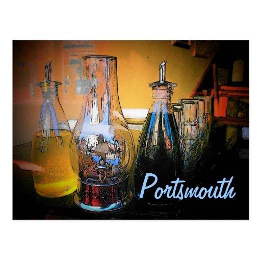 Postal de Portsmouth (café)