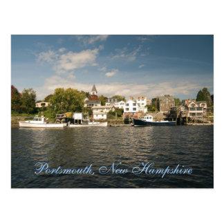 Postal de Portsmouth,    New Hampshire