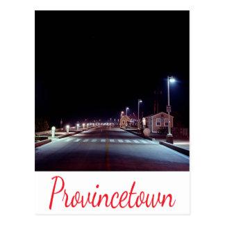 Postal de Provincetown mA del muelle de Cape Cod M