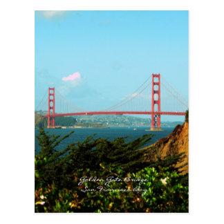 Postal de puente Golden Gate