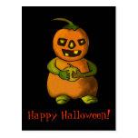Postal de Pumpkinman