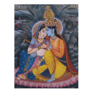 Postal de Radha Krishna