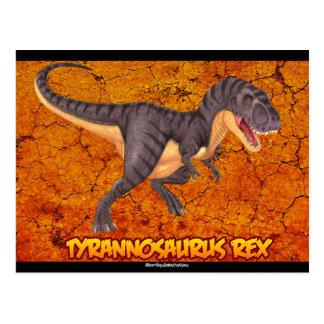 Postal de Rex del Tyrannosaurus