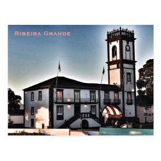 Postal de Ribeira Grande* Azores