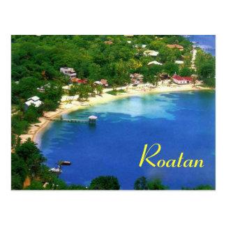 Postal de Roatan