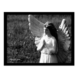 Postal de rogación del ángel de B&W
