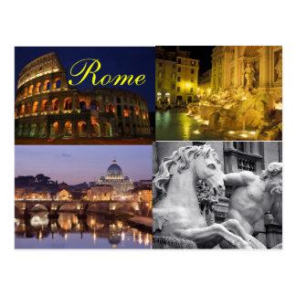 Postal de Roma