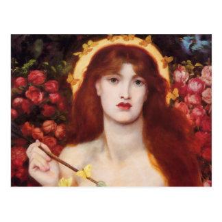 Postal de Rossetti Venus Verticordia