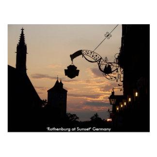 Postal de Rothenburg