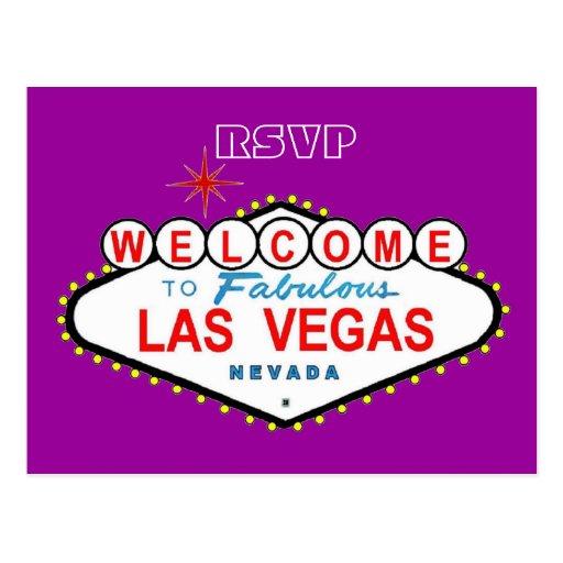 Postal de RSVP Las Vegas