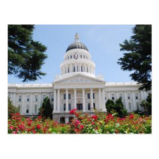Postal de Sacramento del capitolio del estado de C