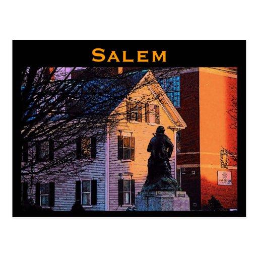Postal de Salem Hawthorne