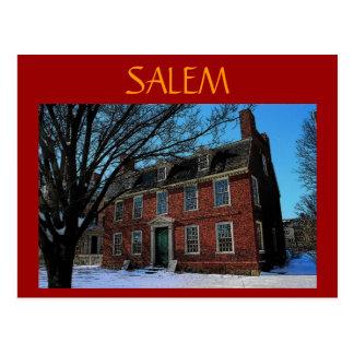 Postal de Salem (ladrillo)