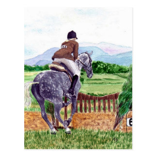 Postal de salto del caballo