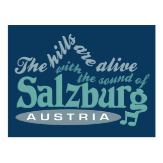 Postal de Salzburg