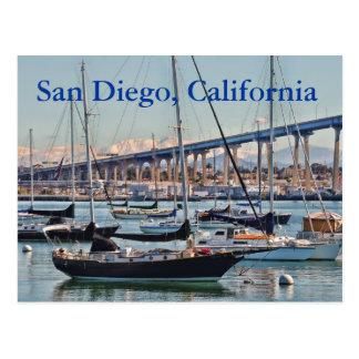 Postal de San Diego California