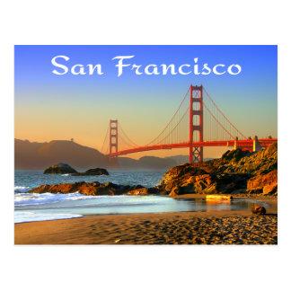 Postal de San Francisco CA de puente Golden Gate