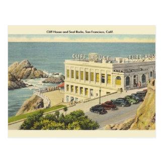 Postal de San Francisco de la casa del acantilado