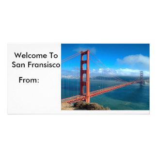 Postal de San Francisco Tarjeta Personal