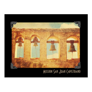 Postal de San Juan Capistrano de la misión