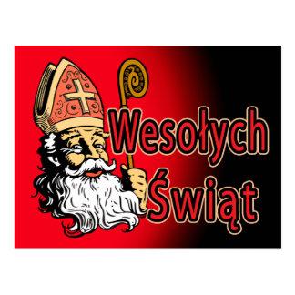 Postal de San Nicolás Wesolych Swiat