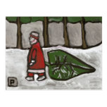 Postal de Santa