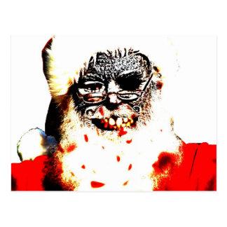 Postal de Santa del zombi