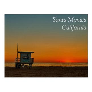 Postal de Santa Mónica