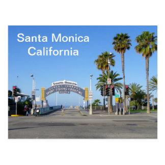 ¡Postal de Santa Mónica! Tarjeta Postal