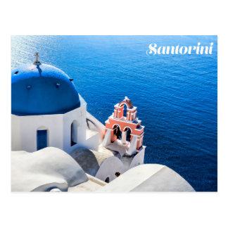 Postal de Santorini