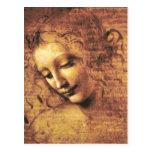 Postal de Scapigliata del La de da Vinci